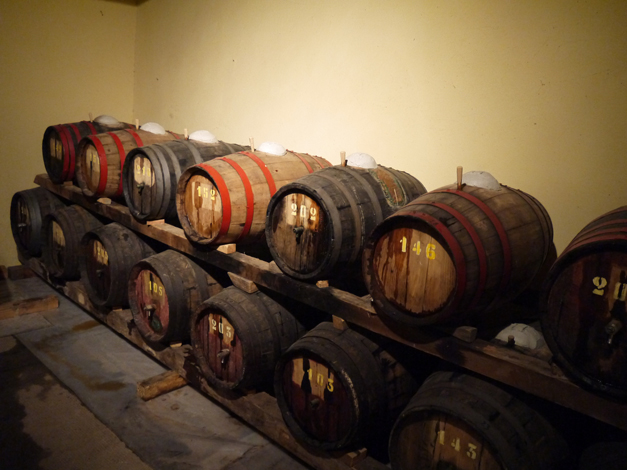Capezzana vin santo casks