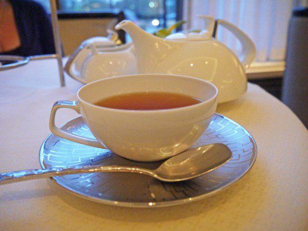 Intercontinental Park Lane tea