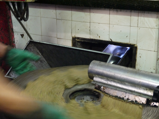 Pressing 1 Olive Oil Production in Tuscany