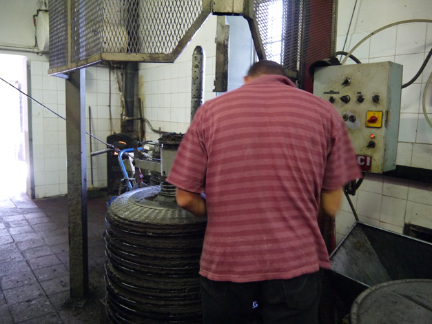 Pressing 2 Olive Oil Production in Tuscany
