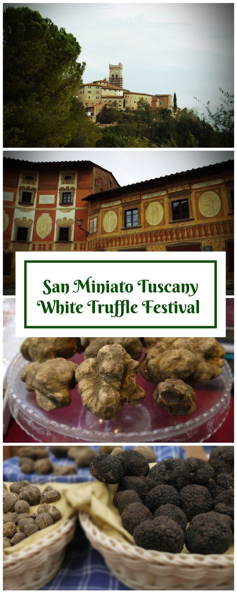 San Miniato White Truffle Festival - an Annual Celebration of the Truffle at San Miniato, Tuscany, Italy