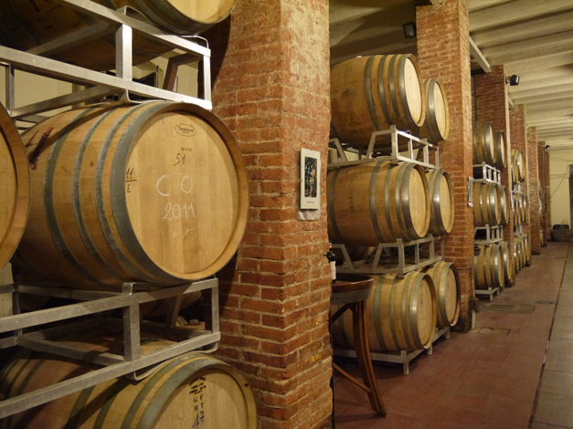 capezzana oak barrels for red wines