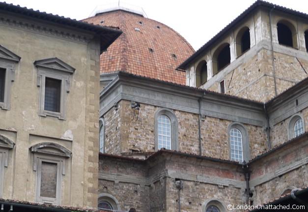 florence roofs basillica de san lorenzo