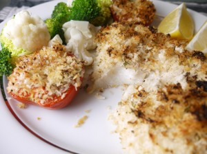 5-2 Diet Lemon and Parsley Crusted Haddock