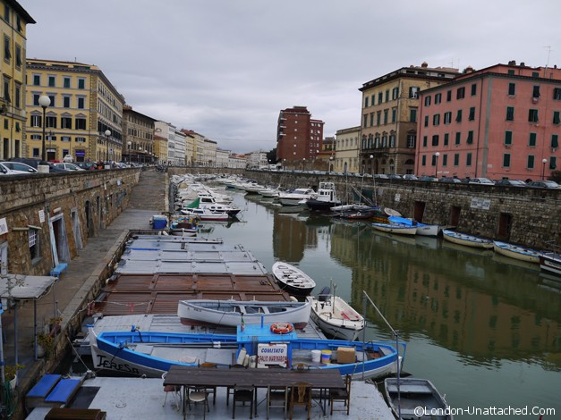 livorno town venice district