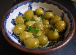 Sauvignon Blanc from Oddbins Wine Bloggers and Olives from Spain