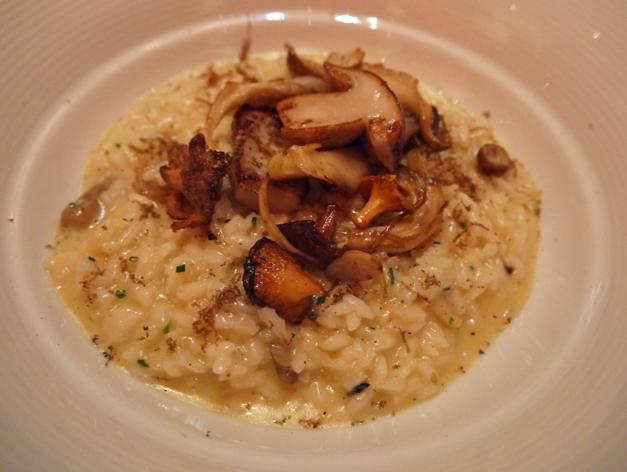 one aldwych wild mushroom risotto