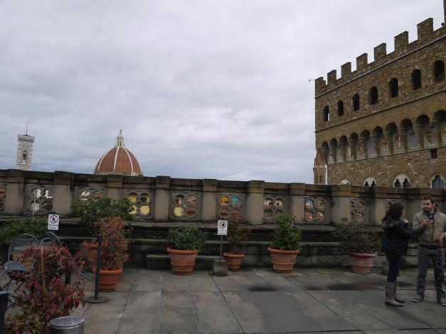 rooftop of uffizi