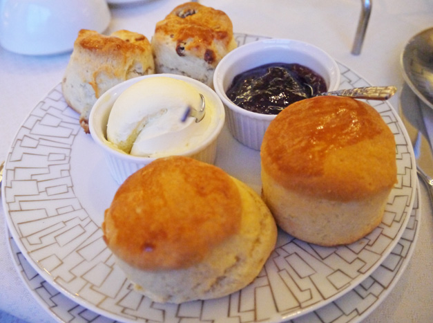 scones - intercontinental christmas tea