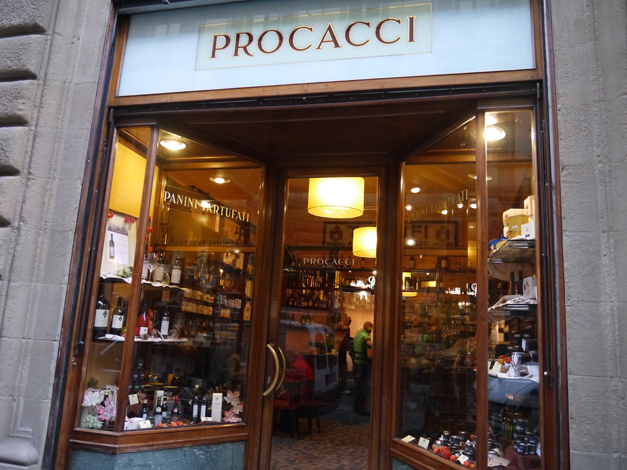 truffles in florence - procacci