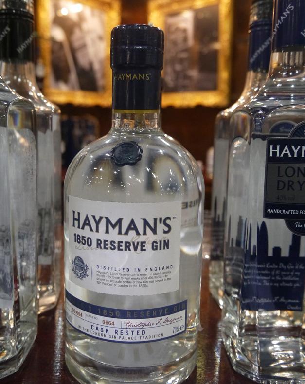 hayman's 1850 reserve gin