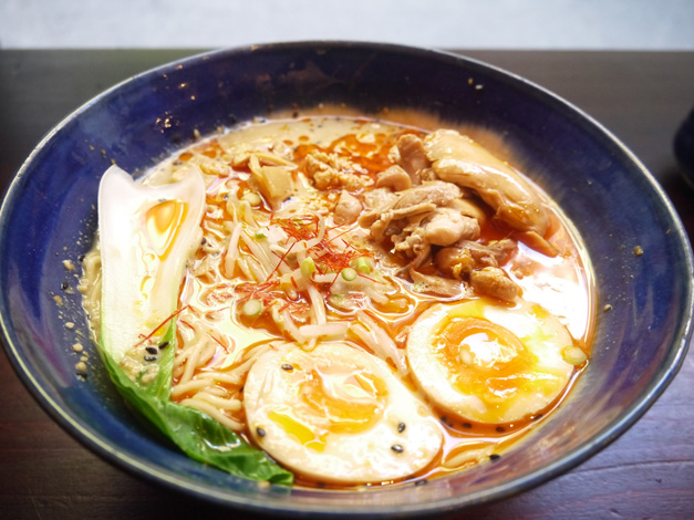 bone daddies ramen (chicken) in Soho London