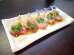 bone daddies yellowfin sashimi
