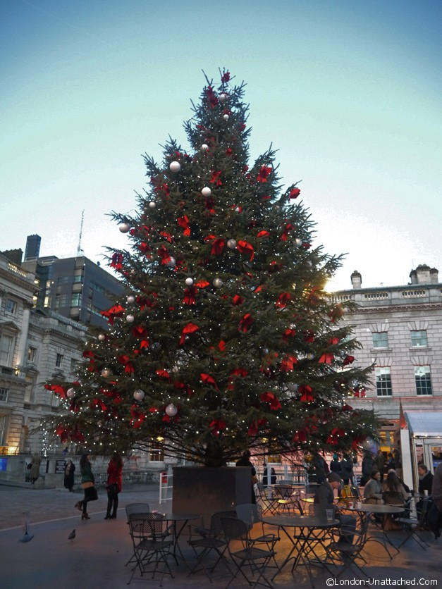 christmas tree somerset house