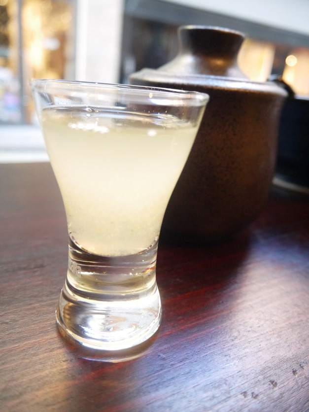 infused saki at Bone Daddies Soho London