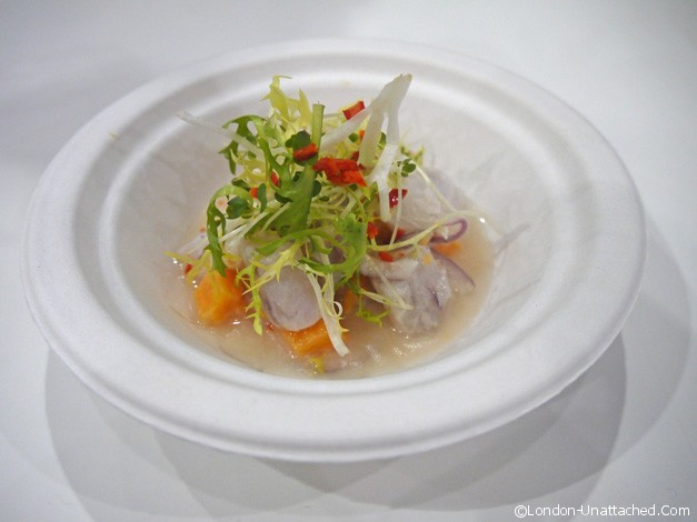 lima sea bass ceviche