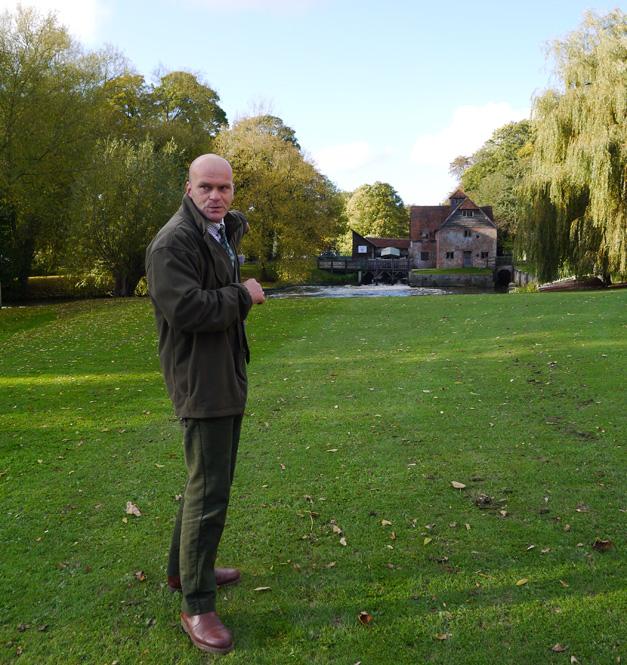 mapledurham mill - the miller