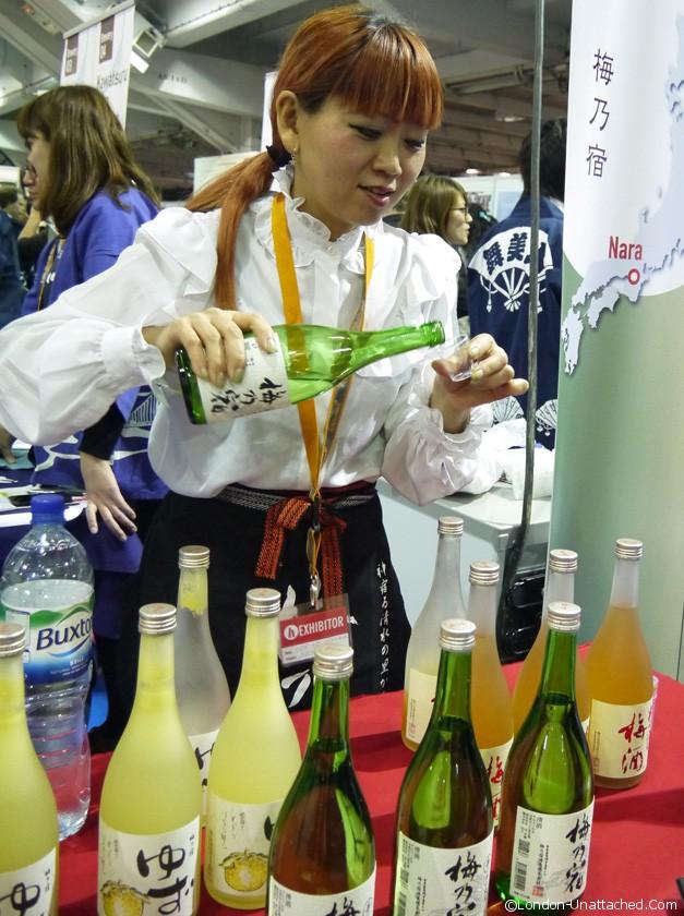 sake experience umenoyado Brewery