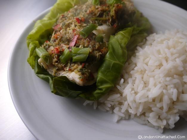 steamed cod 5-2 diet