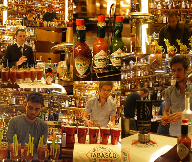 Tabasco bloody mary challenge