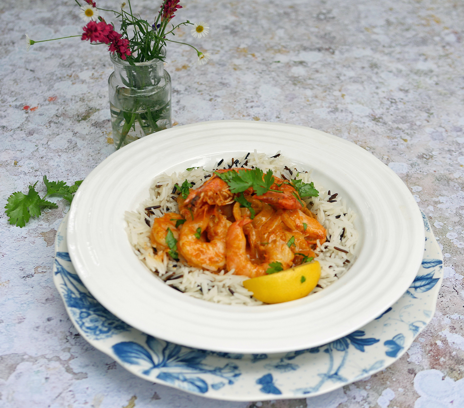 5-2 diet prawn curry