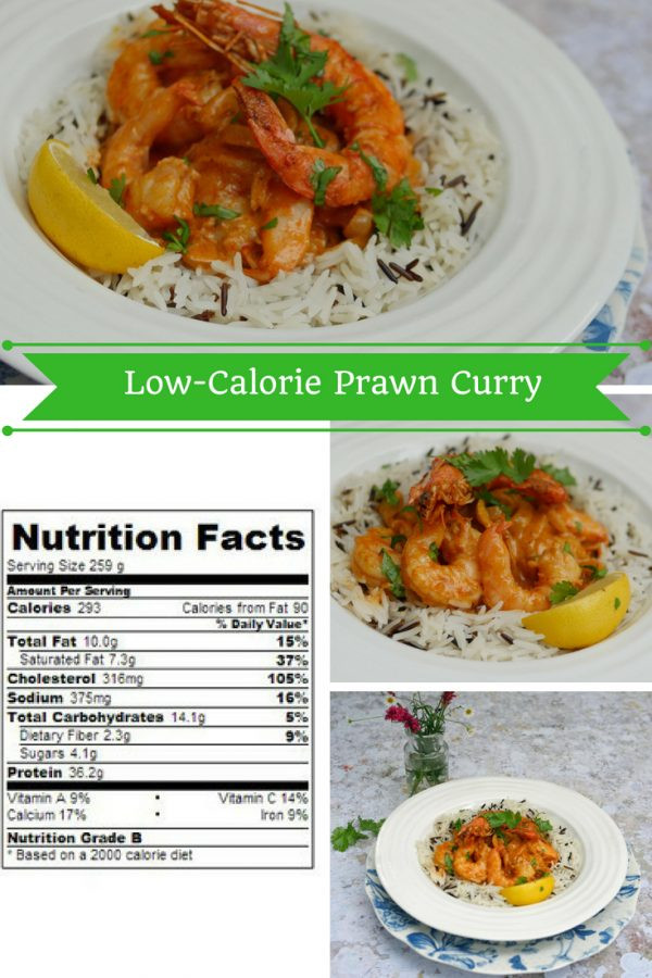 Low-Calorie Prawn Curry