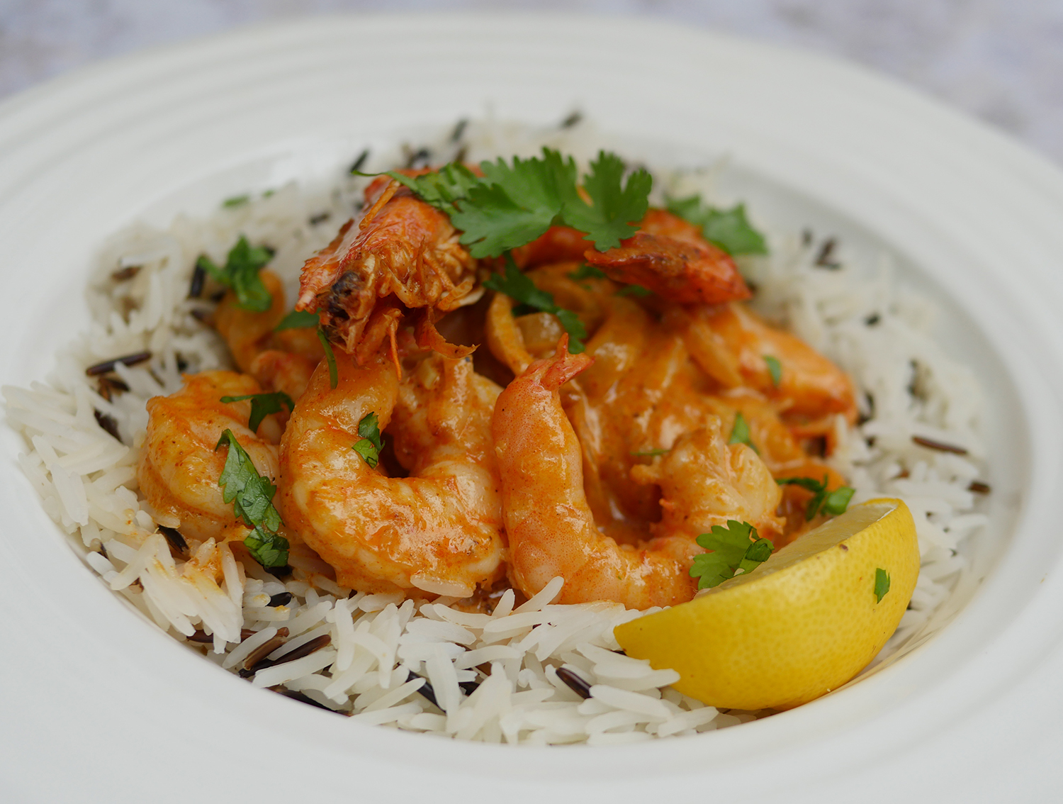 Low calorie prawn curry recipe