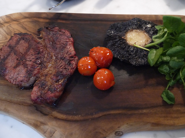 Mews of Mayfair rib eye steak