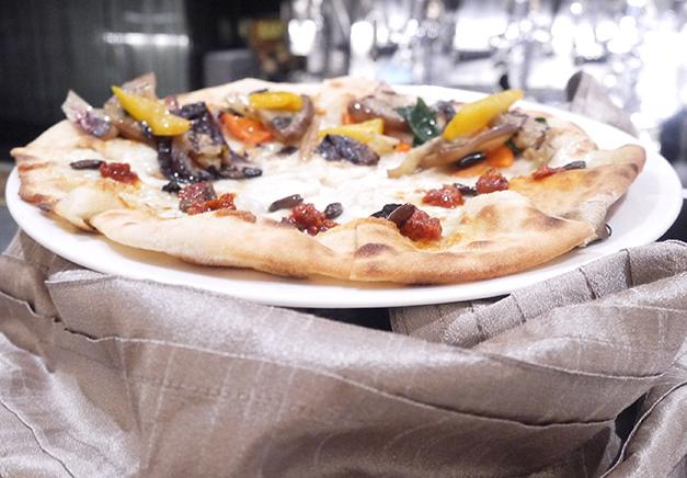 banca - aperitivo - pizza