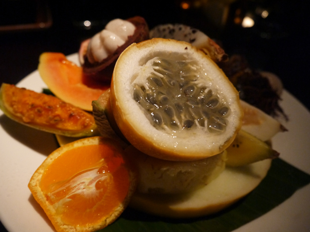 buddha bar fresh fruit