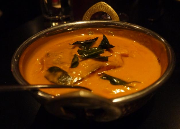 carom indian soho london - sea bass