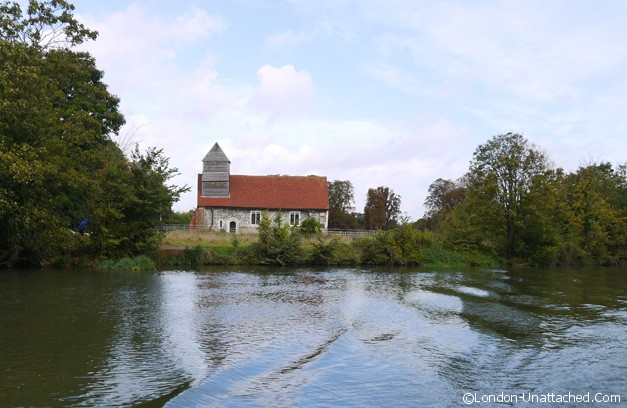 messing around on the river - church