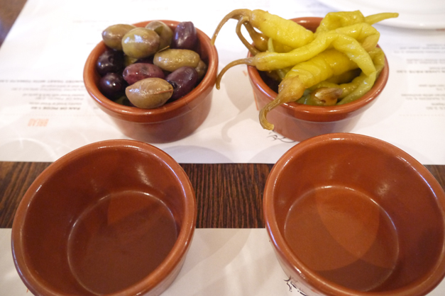 olives and peppers Casa Brindisa