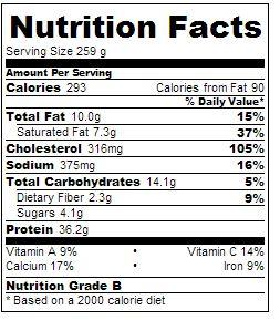 5-2 diet prawn curry nutrition
