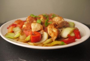 5-2 Diet Low Calorie Sweet and Sour Chicken