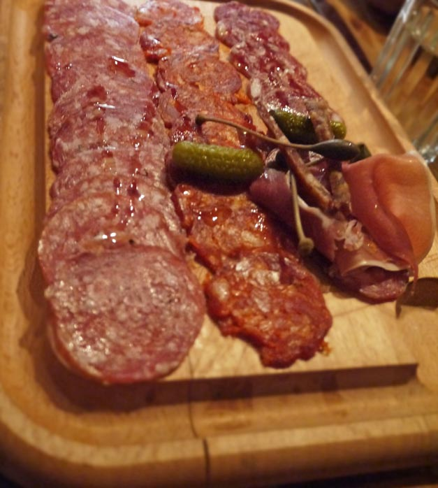 the factory house - charcuterie