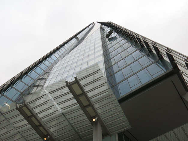 the shard - outside