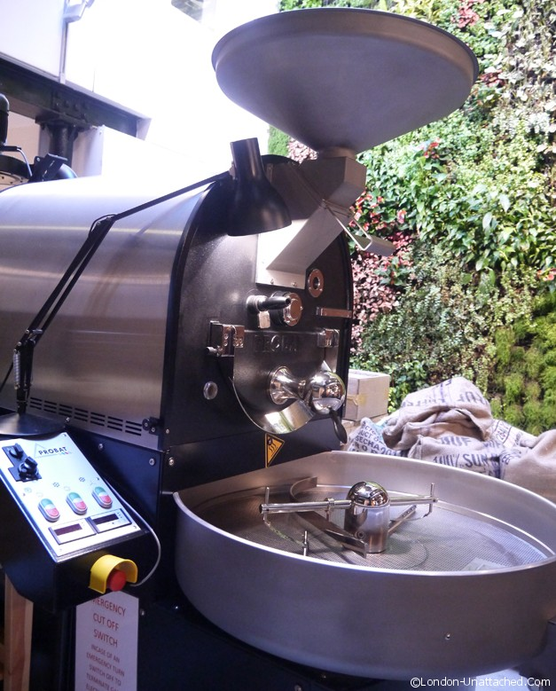 workshop coffee roaster