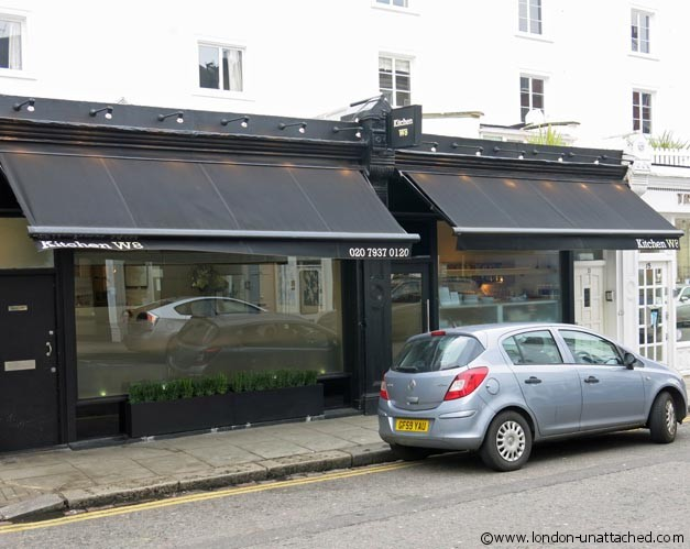 Michelin Star Kitchen W8 London Restaurant Review