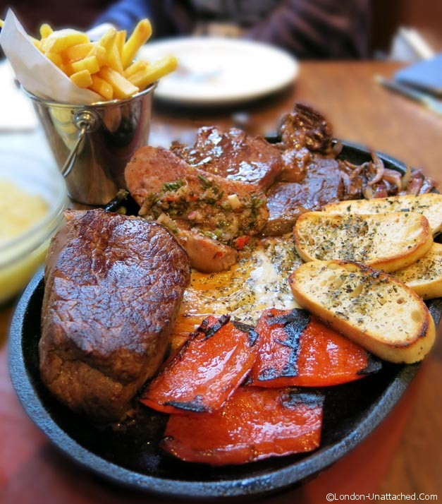 Moo Grill Meat Platter