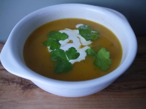 Slimline Carrot and Cumin Soup