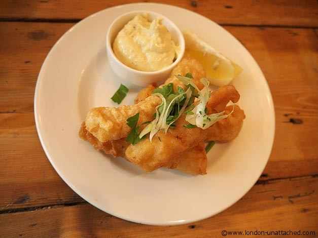 cod fritters - The Real Greek Stratford Westfield