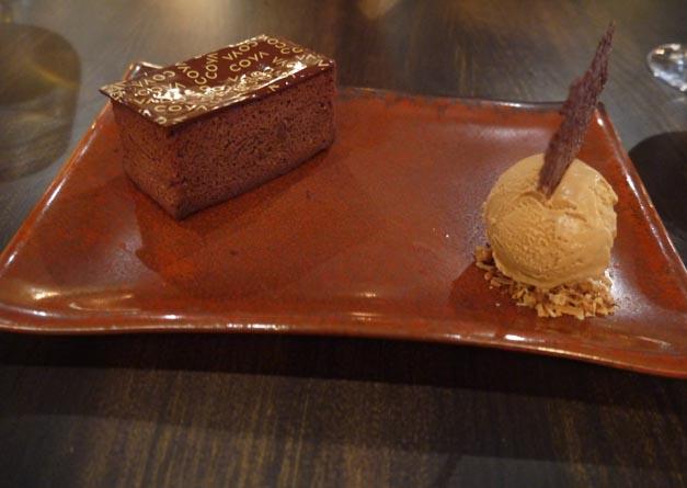 coya dessert chocolate