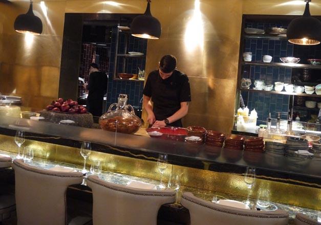 Coya mayfair London kitchen