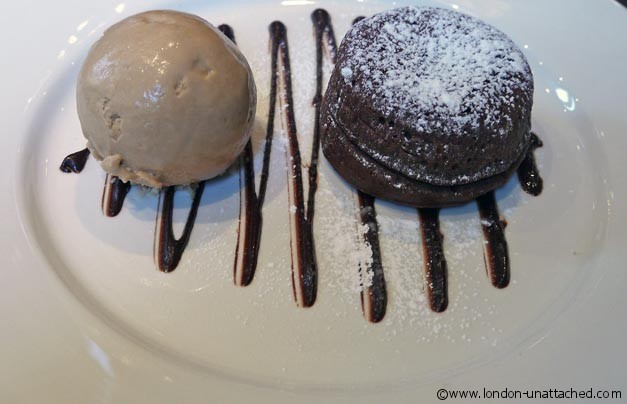 harrisons - chocolate fondant