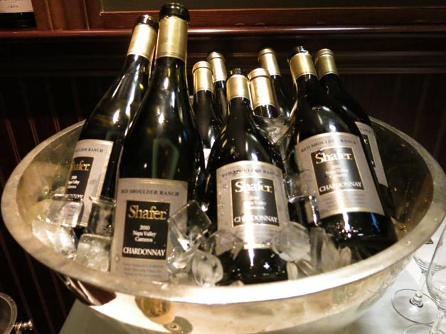 shafer chardonnay - Palm Wine Dinner Knightsbridge