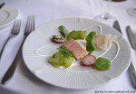 Almeida Restaurant smoked eel amuse bouche