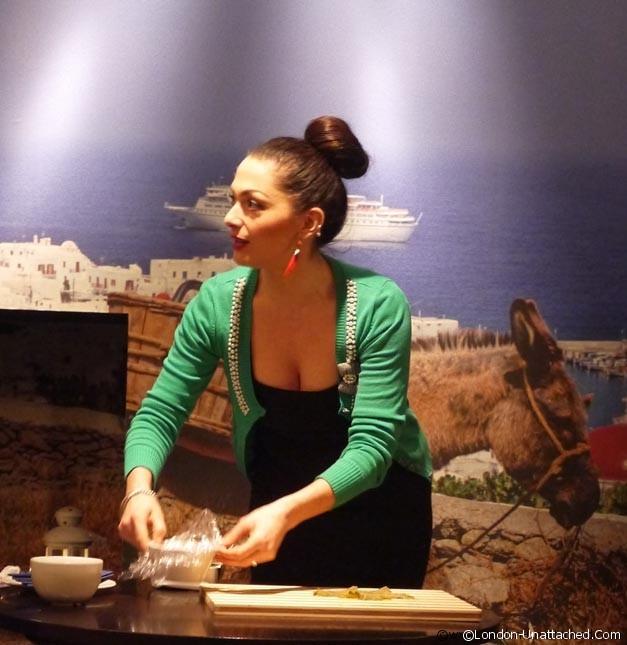 The Real Greek - Tonia Buxton