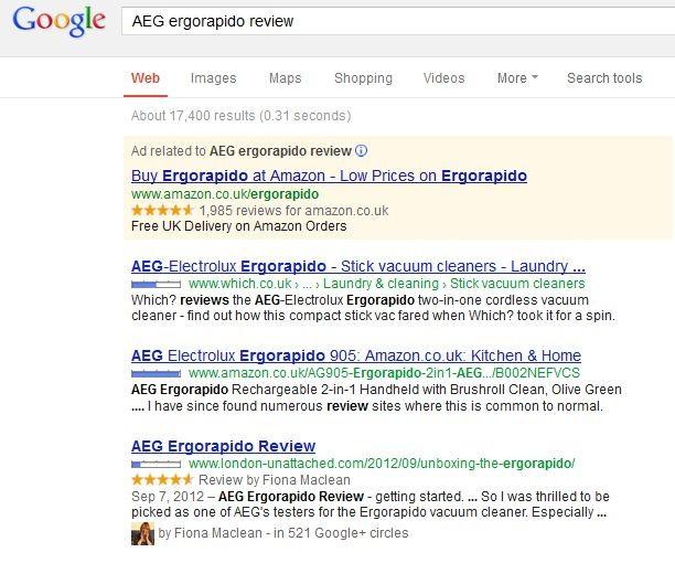 AEG ergorapido review