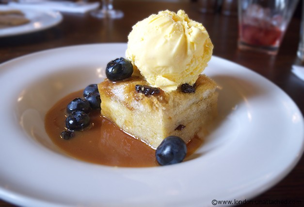 Bread and Butter Pudding, the Spaniards Inn Hampstead